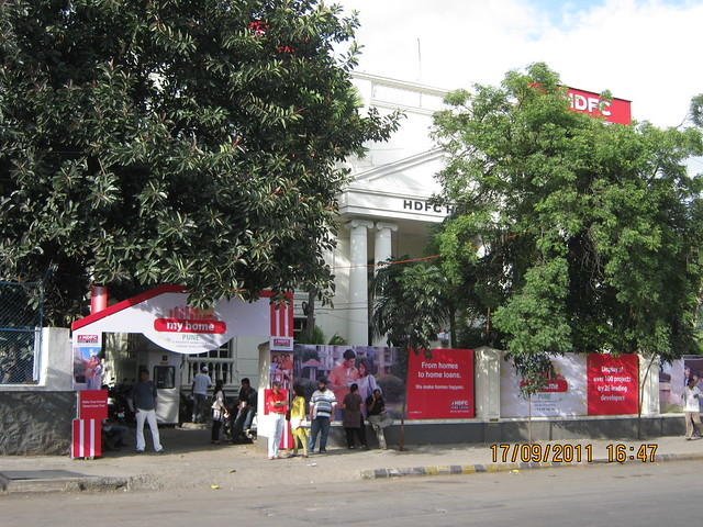 """HDFC House"" venue of ""HDFC's My Home Pune"" Property Exhibition on 17th & 18th September 2011!"