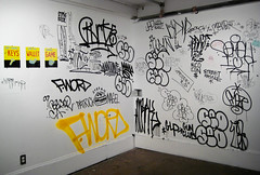 at the espo show, 2009 (petalum) Tags: japan giant graffiti mine tie mind fword artshow 2009 jap seo amaze espo buck50 meak braze diar nemel whitewallsgallery puzel
