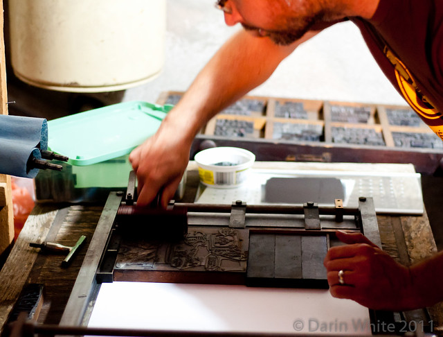Matthew Reynolds printing presses 132