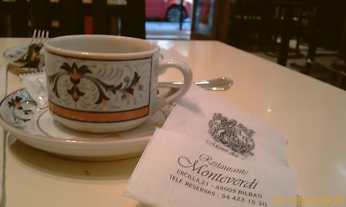 Cafe en el Restaurante Monteverdi by LaVisitaComunicacion
