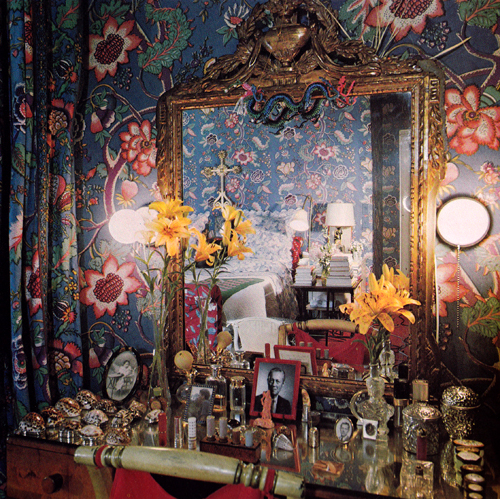 Diana Vreeland's dressing table
