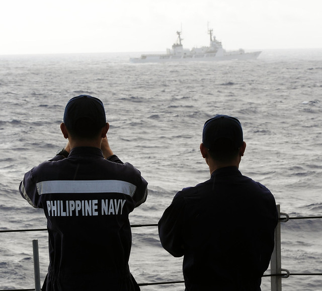 Philippine Navy Sailors observing GDP during DIVTACS.