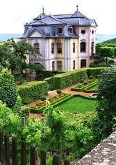 Rococo castle of Dornburg (:Linda: (OFF for a longer while)) Tags: castle germany garden vineyard village vine thuringia garten rococo dornburg weinrebe schiefer rokoko dornburgerschlsser mansarddach slateshingledroof