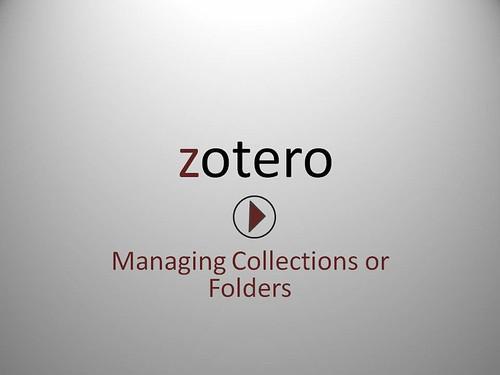 Managing folders