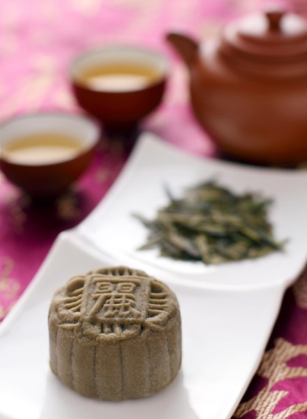 Green Tea Mooncakes - Li Yen