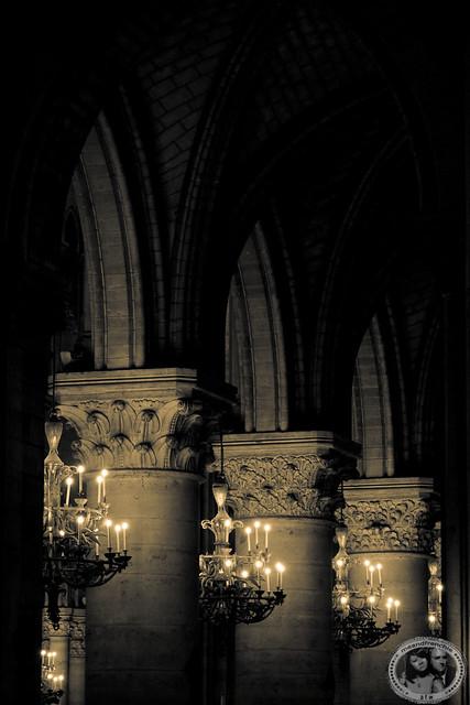 Candlelit Hallway