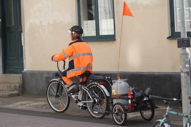 Bikes in public work 3