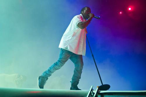 Kanye West på Øyafestivalen 2011