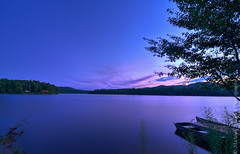 Evening in Paradise (Micha67) Tags: camp sky lake nature water night evening michael nikon niceshot adirondacks micha upstatenewyork newyorkstate jpeg willsboro adirondack schaefer d300 longpond 2011 ptf campjpeg