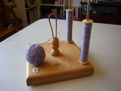 Winding the plying ball