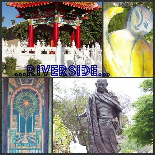 Riverside collage