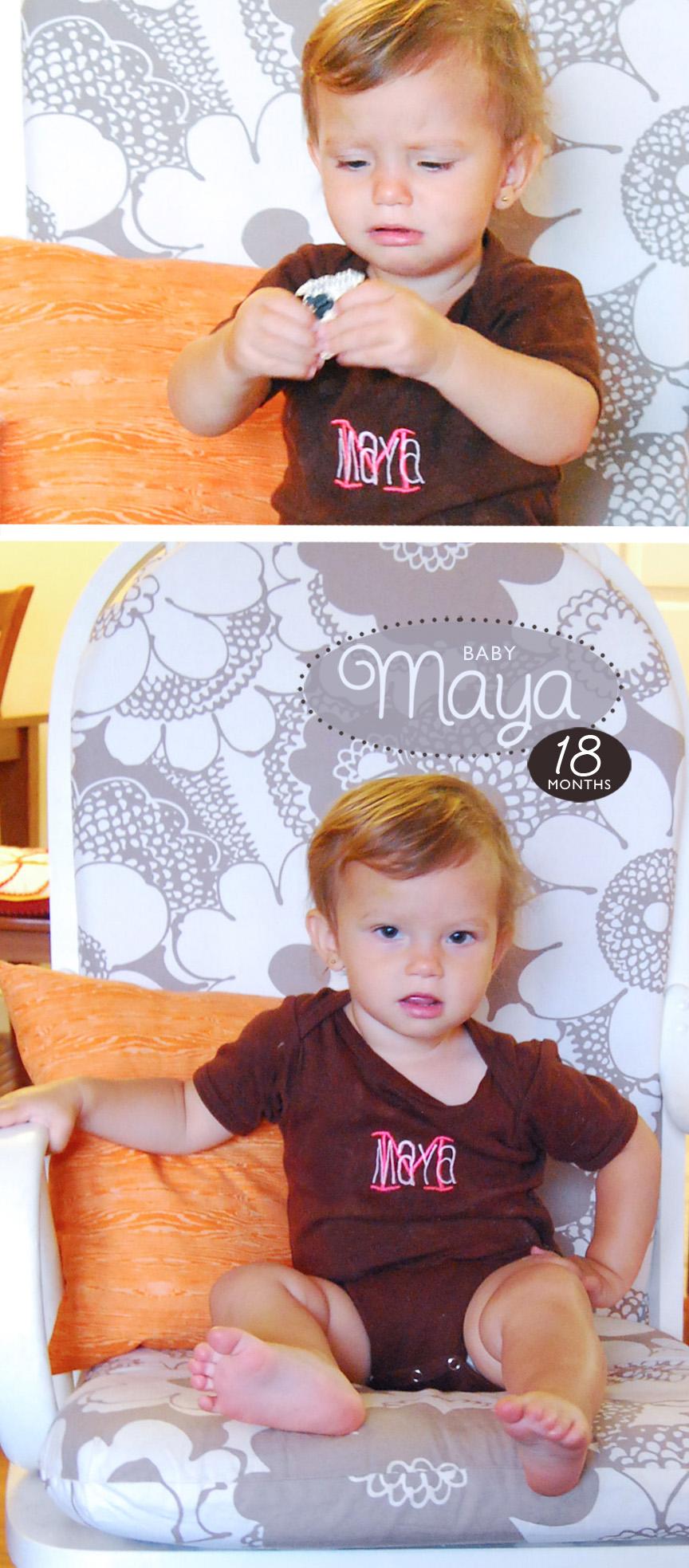 Maya 18 Months