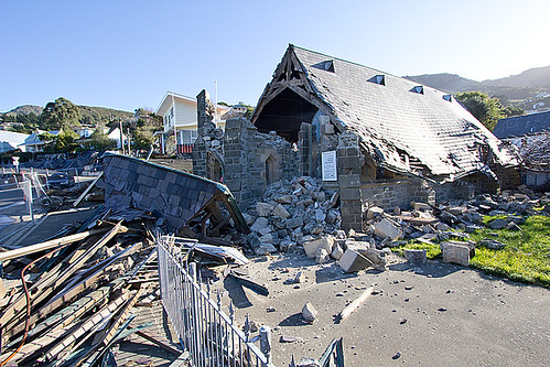 Another demolished church in Lyttleton