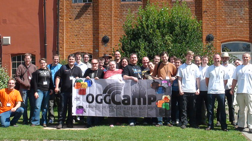 Ubuntu-UK Team at Oggcamp