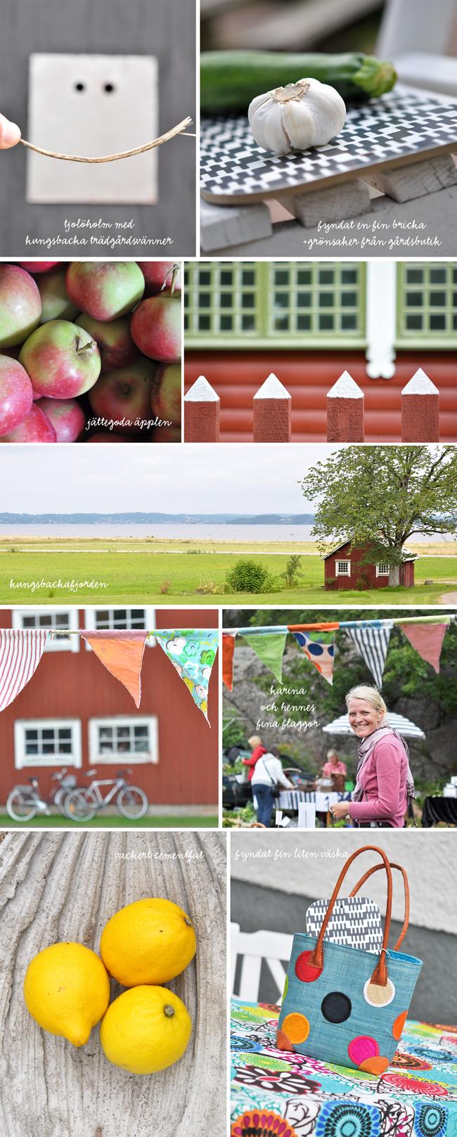 trädgårdsmarknad på Tjolöholm