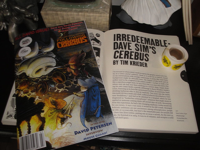 New Cerebus goodies