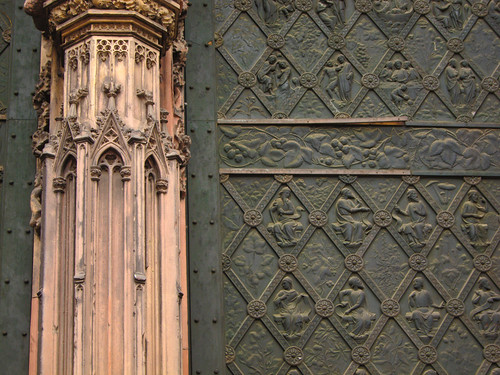 Strasbourg Church Door