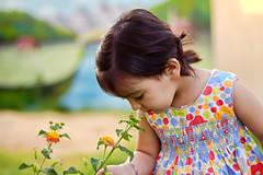 Rivana ♥ Explore (Saleh Mohammed) Tags: cute girl canon children mohammed saleh محمد بنت d600 صالح طفل rivana بنوته طفله ريفانا ريفو