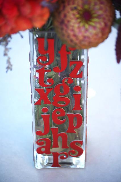 fancy font vase 2