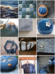 beautiful deep & mesmerizing blues (Cozy Memories) Tags: blue fdsflickrtoys mosaic deep weathered mesmerizing
