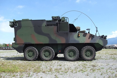 Swiss Army - Piranha IIIC 8x8 RAP