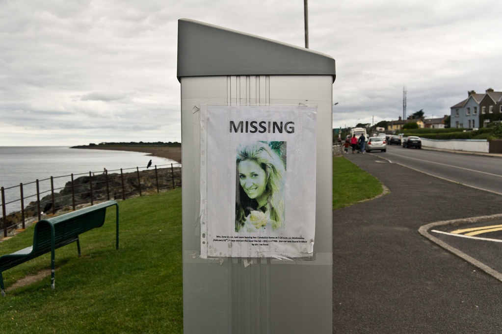 Missing Poster In Greystones.