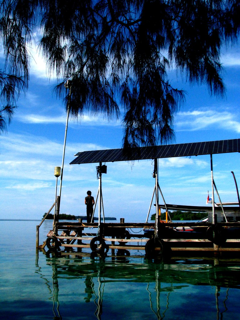 dock arwin17 tags sunset sea vacation beach indonesia relax dock scenery tour kep