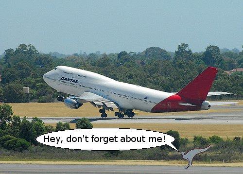 Qantas Forgets It's Australian