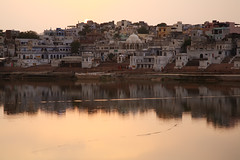 India Views (Gusulabu) Tags: trip travel sunset india canon lago indian pushkar rajasthan indu atarceder ringexcellence dblringexcellence
