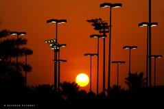 Light & Lights! (puthoOr photOgraphy) Tags: sunset sky sunlight silhouette nikon dk doha lightroom skyshot dohaqatar d90 adobelightroom nikond90 lightroom3 amazingqatar dohasky puthoor gettyimagehq
