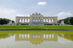 The Gloriette (andreaskoeberl) Tags: schnbrunn vienna park reflection building green architecture austria nikon gloriette 1685 d7000 nikon1685 nikond7000 andreaskoeberl