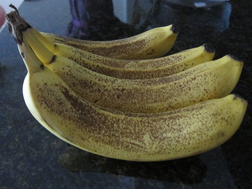 browned bananas