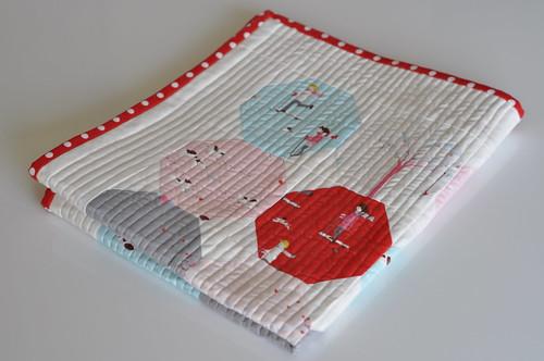 Sherbet Pips crib quilt 3