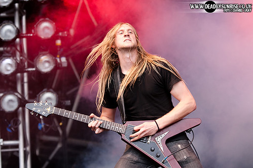 Bloodstock Open Air 2011 mashup foto - Skeletonwitch @ BOA 2011 (15)