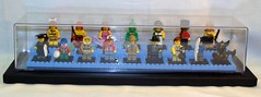 LEGO Collectible Minifigure Series 5 in Case (notenoughbricks) Tags: lego series5 legocollectibleminifigures legoseries5 legocmf
