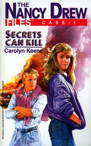 Cover of a Nancy Drew Files book