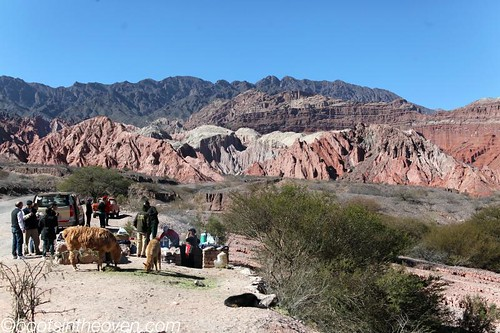 Quebrada outside cafayate