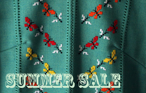 Summer Sale this weekend