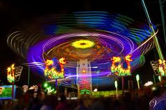 Invasin (VenXXa) Tags: luz bulb night lights noche moving feria paisaje fair movimiento malaga ovnis invasin nikond90 venxxa