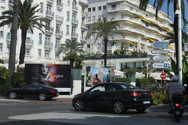 Cannes - from the car
