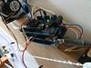Pile of adafruits, cooperating at last. (Euphy) Tags: robot drawing machine arduino datalogger adafruit motorshield polargraph