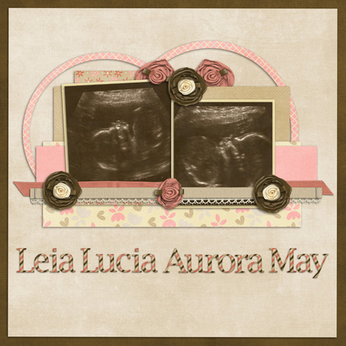 Leia Lucia Aurora May by Lukasmummy