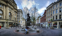 Manchester downtown, UK (M. ALbeloushi) Tags: uk hdr