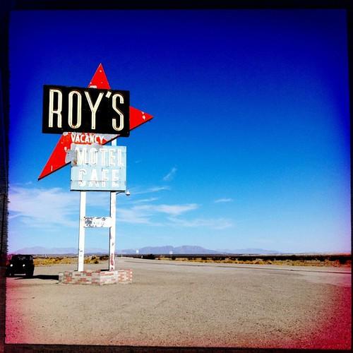 Roy's Motel @ Amboy Mojave Desert