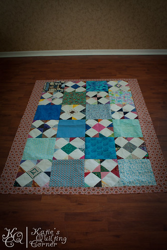 Hot Mess Quilt Top