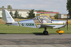 G-CCEM (QSY on-route) Tags: summer madness flyin breighton gccem 21082011