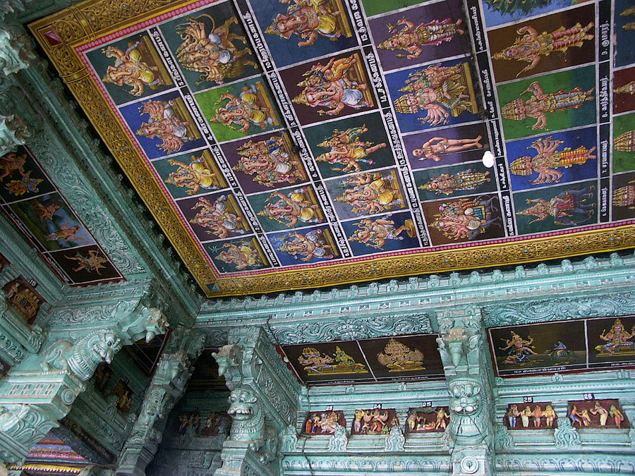 Храм Минакши. Мадурай, Тамил Наду © Kartzon Dream - авторские путешествия, авторские туры в Индию, тревел видео, фототуры