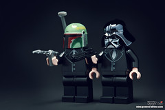 Hommage to Pulp fiction (storm TK431) Tags: starwars lego boba darthvader fett
