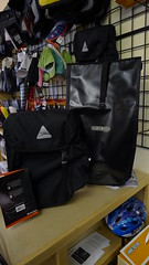 New Axiom and Ortlieb panniers