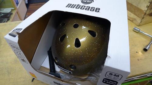 New style sparkle Nutcase helmets